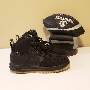 Nike Air Lunar Force 1 Duckboot Sneakerboot GS 7Y 882842-001 Boots Mens 7
